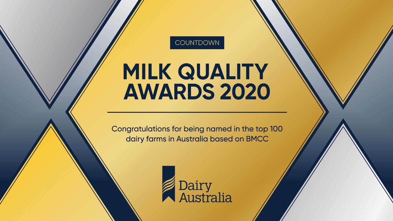 Australian Milk Quality Awards 2020
