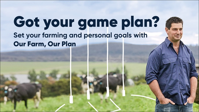Got your game plan? Set your farming and personal goals with Our Farm, Our Plan