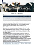 Production Inputs Monitor Issue 184 report cover