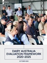 Dairy Australia Evaluation Framework 2020-21