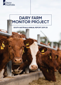 Dairy Farm Monitor Project SA Annual Report 2019/20 cover