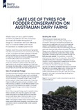 Storing tyres on dairy farms must comply with EPA regulations