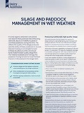 Silage and Paddock Management in Wet Weather